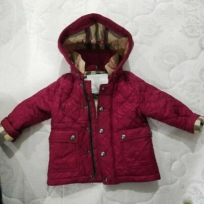 Burberry Girls Quilted Jacket Baby 12900 Picclick