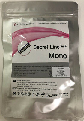 SECRET LINE PDO thread Lift Korea - Mono Type (50pcs