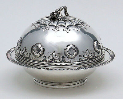 TIFFANY Broadway by Grosjean & Woodward STERLING BUTTER DISH