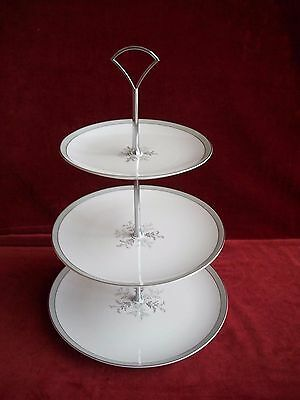 Noritake  # Lucille 5813  ( 3 Tier Cake Stand )