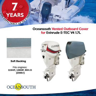 Vented Cover for Evinrude E-Tec Outboards V4 1.7L