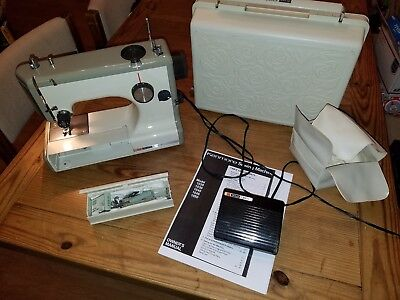 SEARS Kenmore Vintage Mini Portable Electric Sewing Machine Working Unique Kenmore Sewing Machine Model 15108
