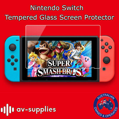 Nintendo Switch Premium Tempered Glass Screen Protector 9H Hardened Guard Shield
