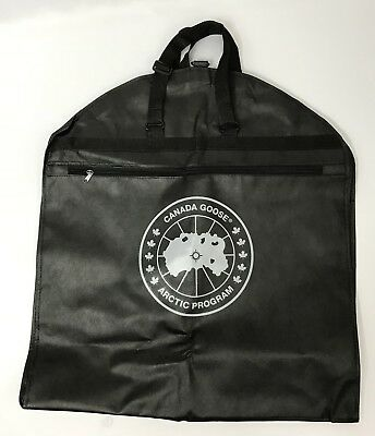 CANADA GOOSE Brand Original Black Garment bag /JACKET COAT STORAGE NEW