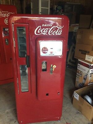 Coca Cola Coke Machine Cavalier 72