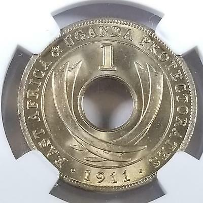 1911 H East Africa Cent Great MS 66 NGC