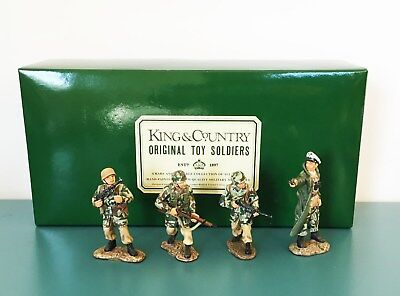 KING & COUNTRY WW2 German Fallschirmjager #FJ02 Toy Soldiers