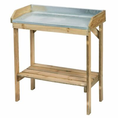 Nature Re-potting Table for Sowing and Planting FSC Gardening Lawn Bench Stand