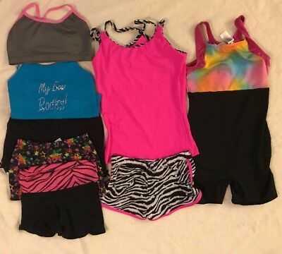 Lot Of Used Cheer And Gymnastics Clothes Youth Large