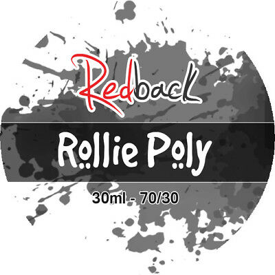 Rollie Poly 30ml Tobacco E Liquid Juice 70% VG FAST & FREE SHIPPING