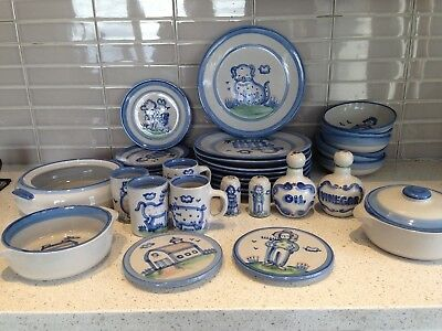 MA Hadley Pottery Country Collection