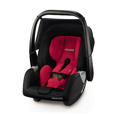 Recaro Privia Evo Racing Red Child Seat (0-13 kg) (0-29 lbs) Germany