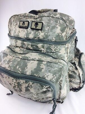 Mint US Military Digital Camo Padded Backpack Rucksack Laptop Radio Carrier Army