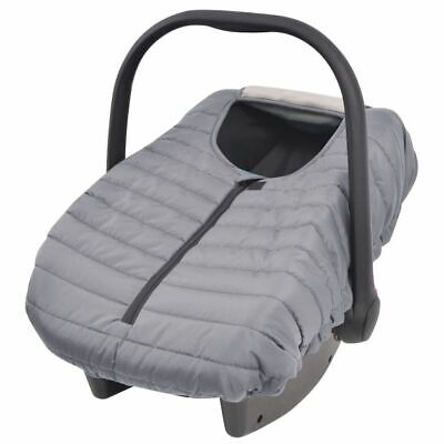 vidaXL Softly Padded Baby Infant Newborn Carrier/Car Seat Cover Protector Grey
