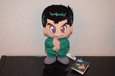 Yu Yu Hakusho Ghost Files - Yusuke Urameshi Stuffed Plush doll Figure w/ tag
