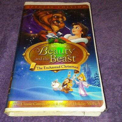 beauty and the beast special rare enchanted christmas