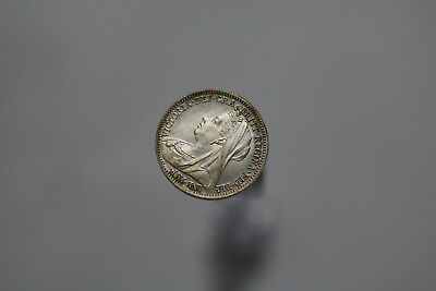 Uk Gb 3 Pence 1897 Silver High Grade Proof Like A77 #7550