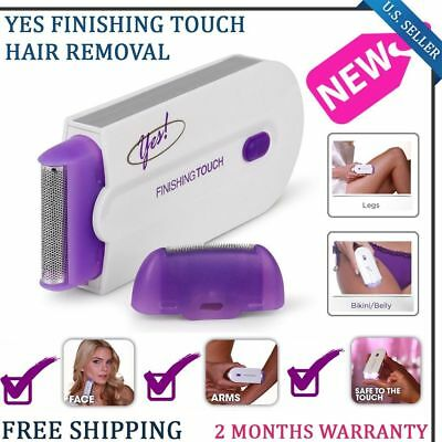 Yes Finishing Touch Pain Free Hair Remover Removal Instant Safety Body Trimmer