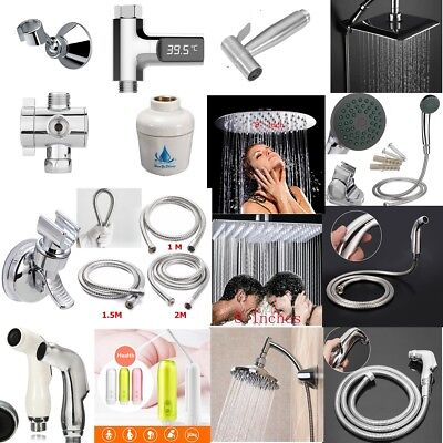 Various of Bathroom shower Head Arm hose Handheld Toilet Bidet accessories tool