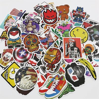 UTSAUTO Pack of 100 pcs Personalize Laptop Skin Decals and Stickers for Kids Win