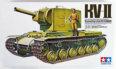 Tamiya 35063 1/35 Model Military Russian KV-II Kit - CA163 Kit