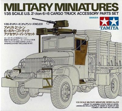 Tamiya 35231 1/35 Military US 6x6 Cargo Truck Parts Set Kit