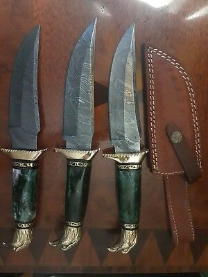 knives Damascus collectibles antique handmade fixed blade modern steel designed