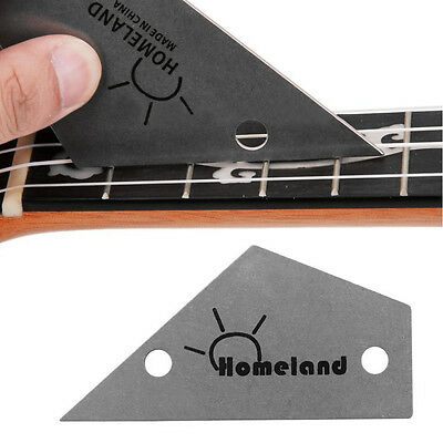 Stainless Steel Fret Rocker Level Tool Luthiers Guitar Tool Supplies Silvery