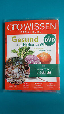 Geo Know Nutrition with DVD Autumn and Winter no. 4 2017 UNREAD 1A abs. Top