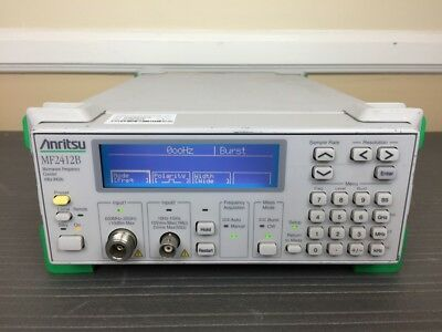 Anritsu MF2412B 10 Hz to 20 GHz Microwave Frequency Counter - CALIBRATED!