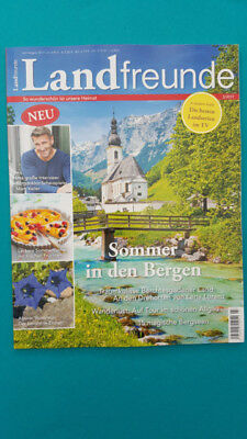 Land Friends So Beautiful is Unsere Heimat 3/2017 July/August ungel. 1A