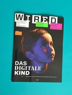 Wired 02/17 the Digital child. UNREAD 1A Absolute Top