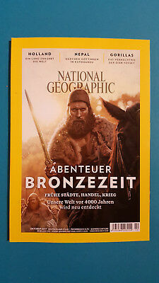 National Geographic October/2017 Abenteuer BRONZE AGE UNREAD 1A abs.top