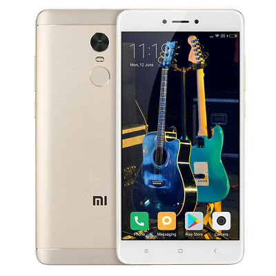 5.5''Xiaomi Redmi Note 4 4G Octa Core MIUI 8 3+32GB 4100mAh 13MP 2SIM Smartphone