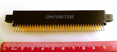 SAE CPH 7000-72ST Edge Connector 72 Way PCB Mnt 0.1in./2.54mm Pitch OM0967G