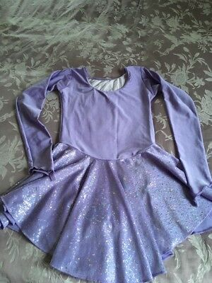 Ice Skating Dress Age 10/11 Approx