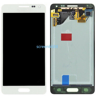 For Samsung Galaxy Alpha SM-G850FLCD Display+Touch Screen Bildschirm Weiß+cover
