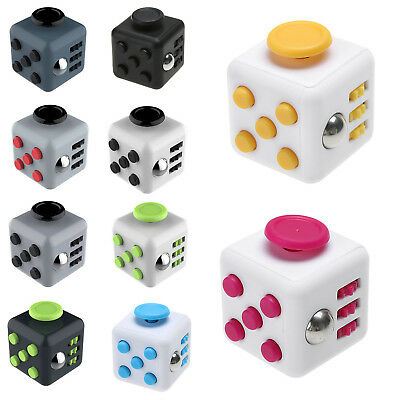 Upgraded Magic Fidget Cube Anti-anxiety Adults Stress Relief Kids Toys Gift WOW