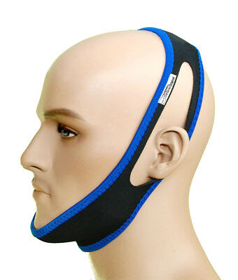 Anti Snoring Chin Strap Belt Stop Snore Device Apnea Jaw Sleep Well Husband
