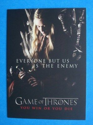 2012 Rittenhouse *GAME Of THRONES Season 1 You Win Or You Die #SP2 Headly CERSEI