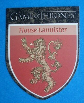2012 Rittenhouse *GAME Of THRONES* Season 1 House Sigil Card H3 *House LANNISTER