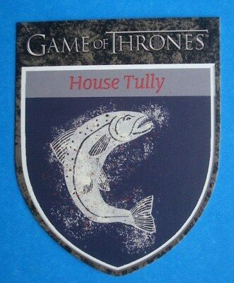 2012 Rittenhouse *GAME Of THRONES* Season 1 House Sigil Card H4 *House TULLY
