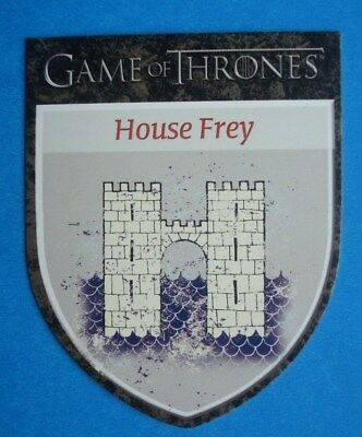 2012 Rittenhouse *GAME Of THRONES* Season 1 House Sigil Card H7 *House FREY
