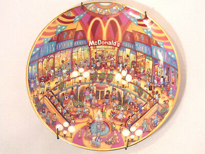 McDonald's Golden Showcase by Bill Bell Plate Limited Edition