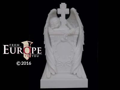 The Best Hand Carved Weeping Angel Religious Monument - Statue - Wa87