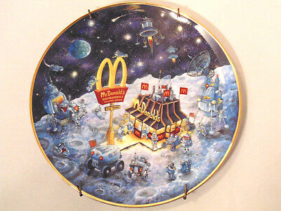 McDonald's Golden Dreams by Bill Bell Plate Limited Edition