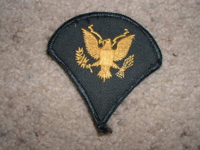 """Vintage Military Eagle patch embroidered 3"""" X 3"""""""