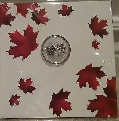 2018 Maple Leaves $10 1/2OZ Pure Silver Coin Canada151