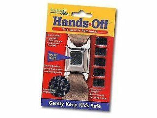 """Car Seat Button Guard - Hands off """"The Gentle Reminder"""""""