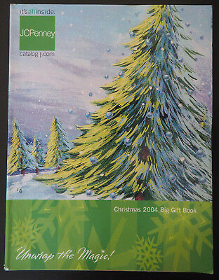 2004 JC PENNEY Christmas Big Gift Catalog - Excellent!